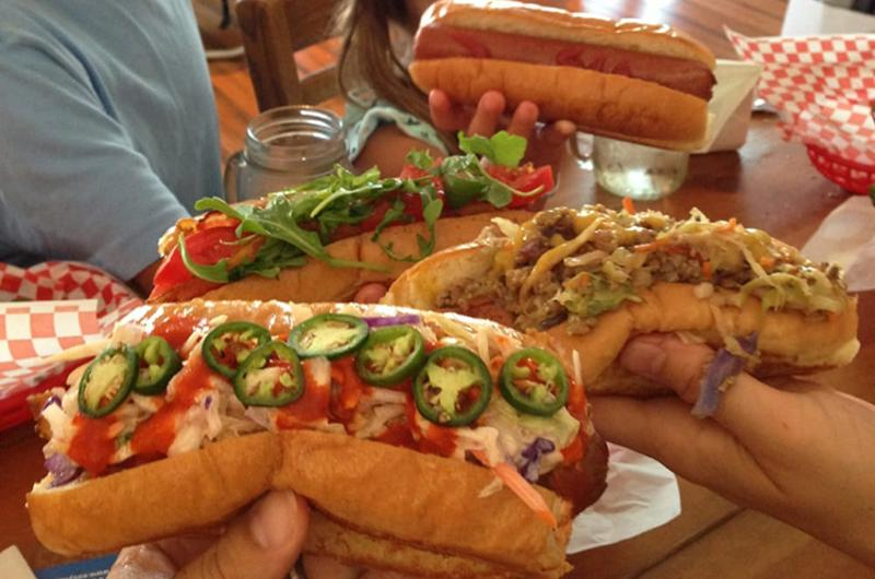 nanis cafe beach shop hot dogs