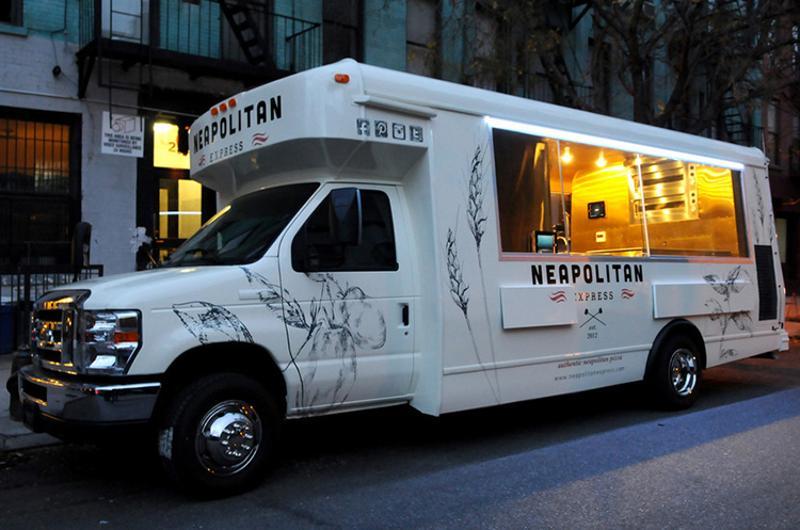 Neapolitan Express food truck; Austin