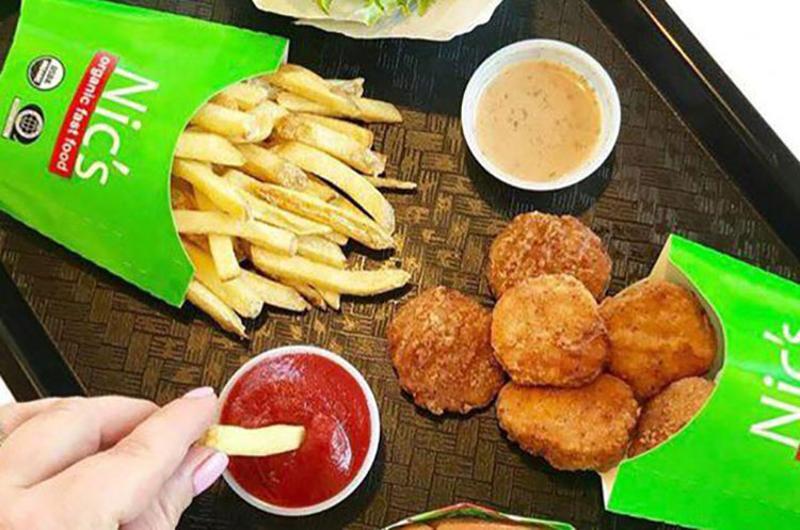 nics organic fast food