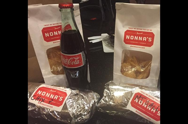 Nonna's food delivery (via Postmates)
