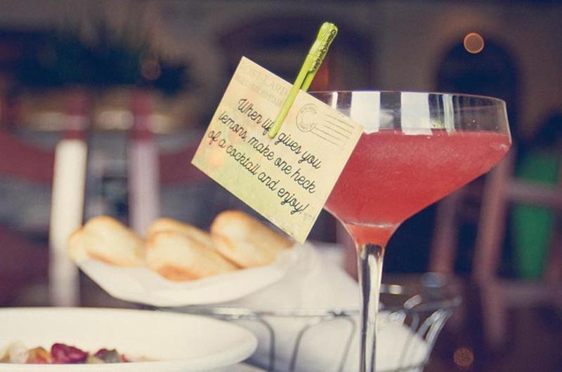 olive garden martini