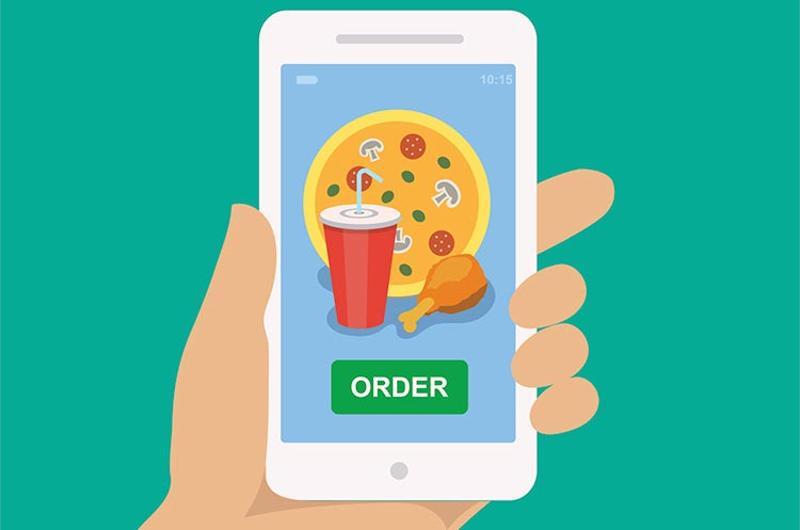 ordering phone app