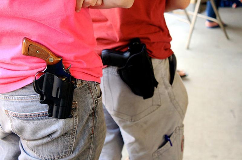 open carry guns