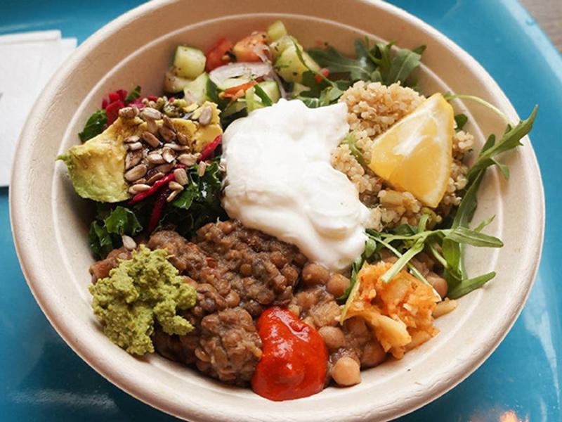 Bombay Sandwich Co. - Organic Quinoa Salad