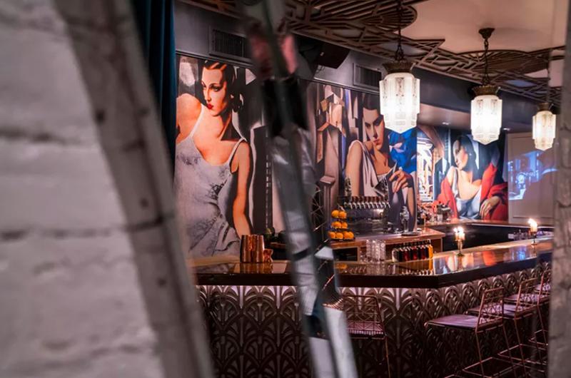 otto mezzo bar interior