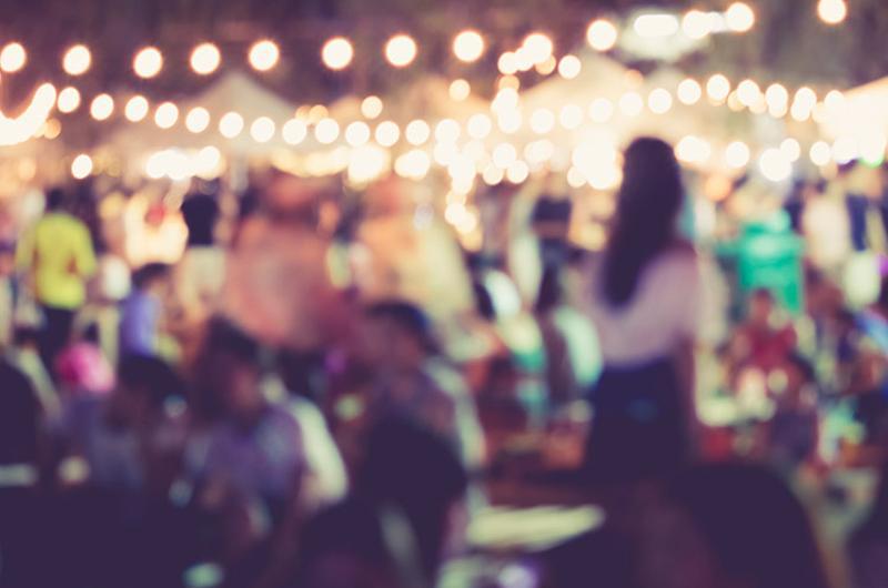 outdoor festival fair