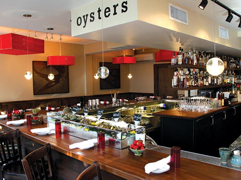 oyster bar front view