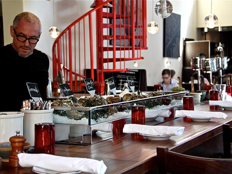 oysters bartender restaurant