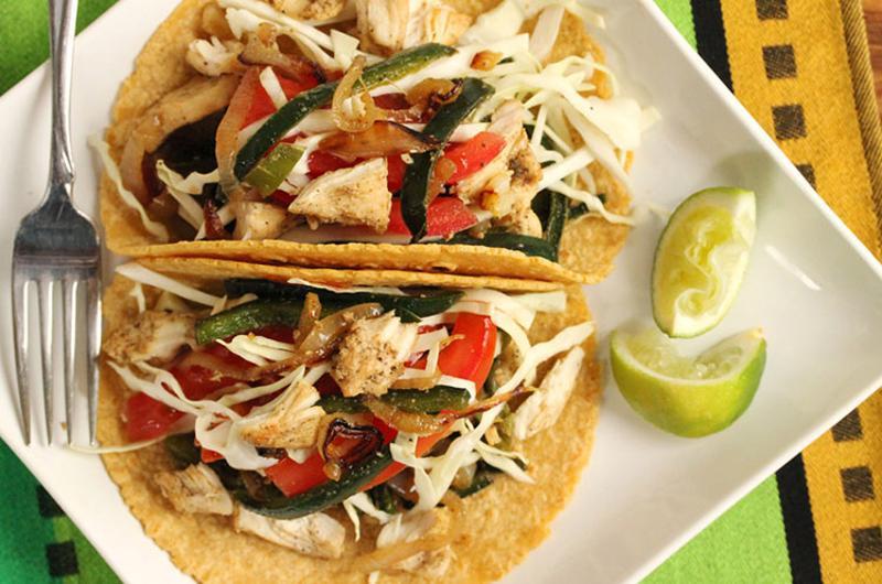poblano tacos