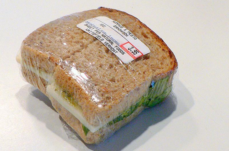 packaged sandwich slide