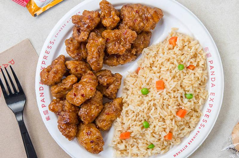 panda express orange chicken
