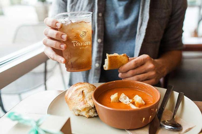 panera tea soup