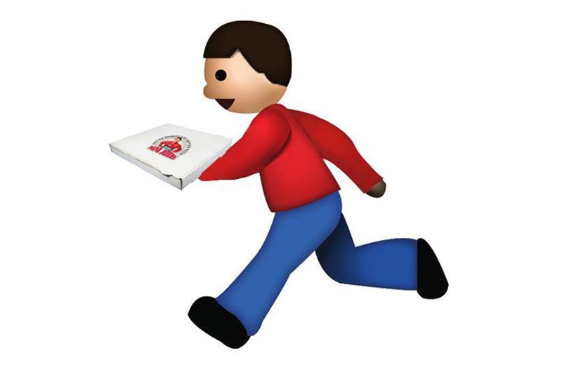 papa johns delivery emoji