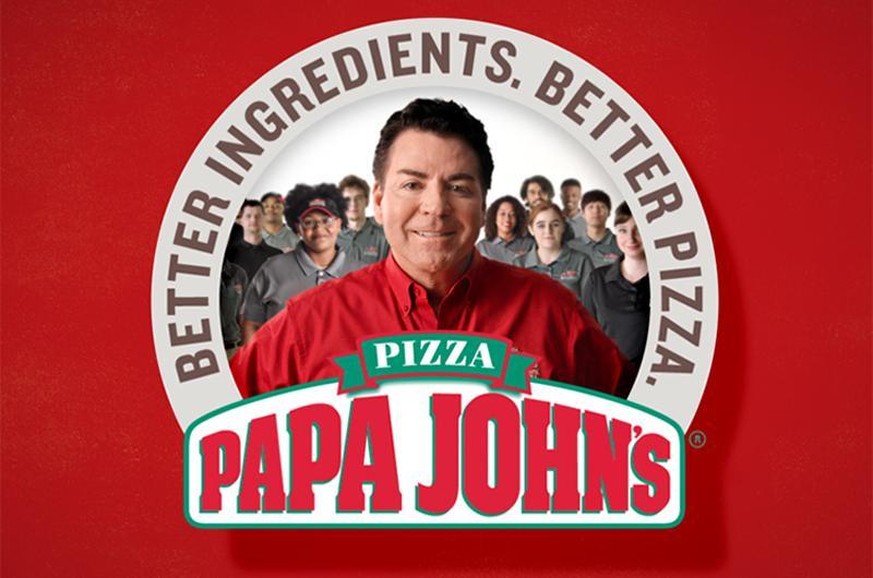 papa johns slogan