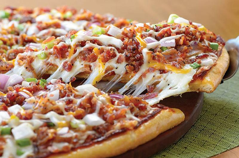 papa murphys bacon pizza