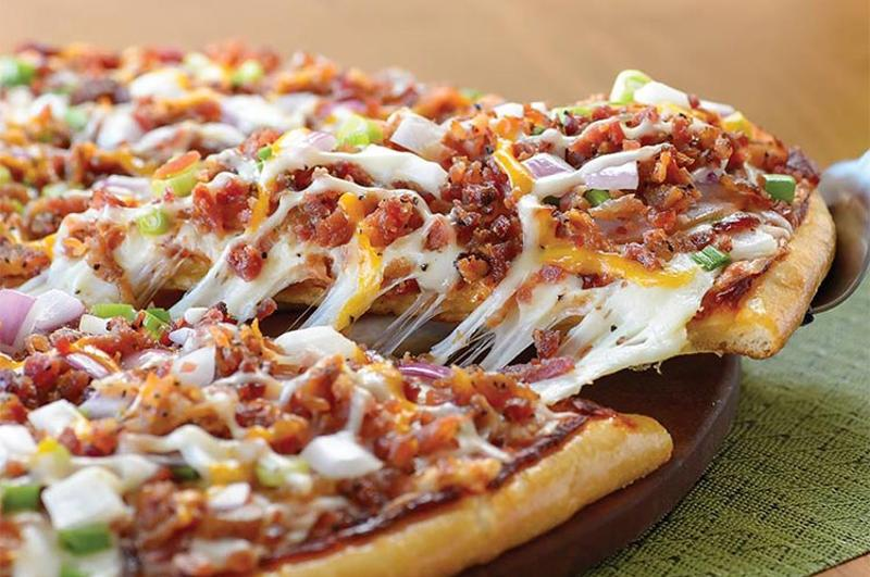 papa murphys bacon pizza