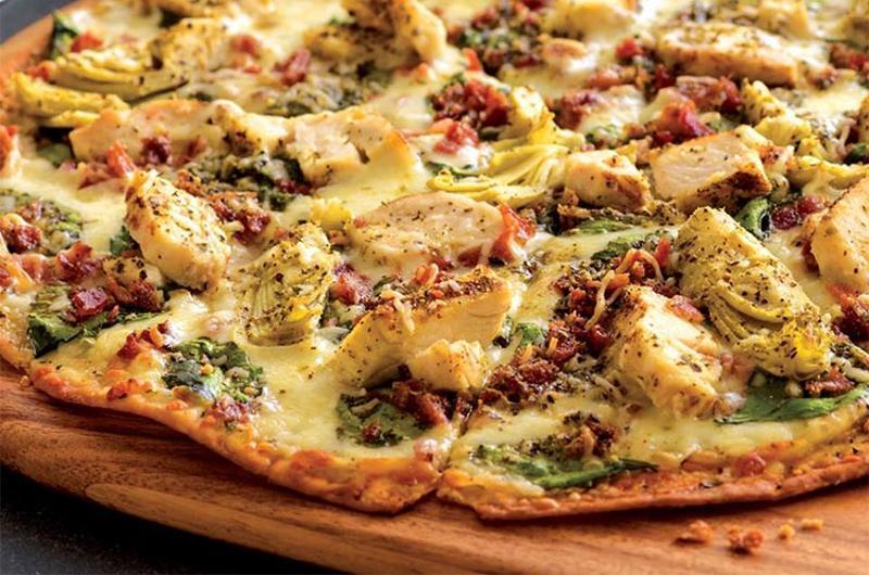 papa murphys chicken artichoke pizza