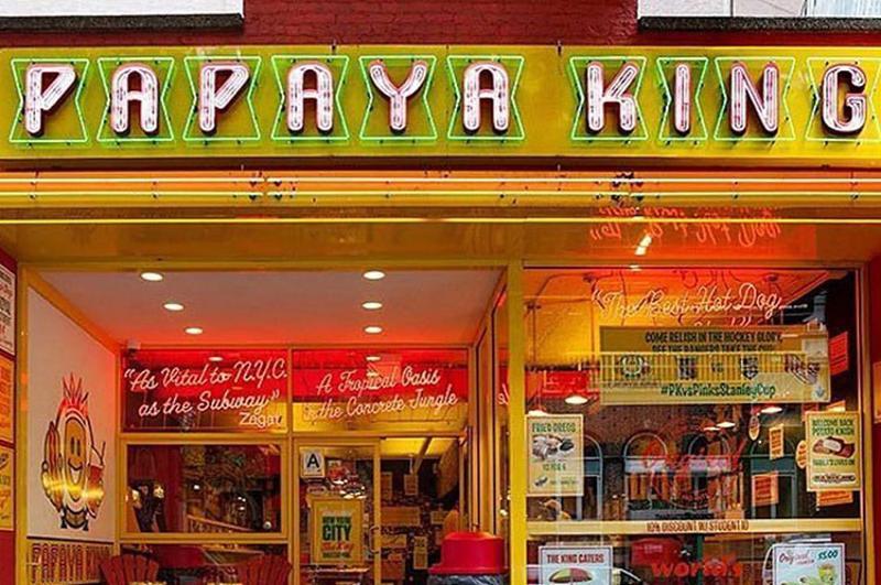 papaya king exterior