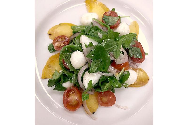 peach salad florentine