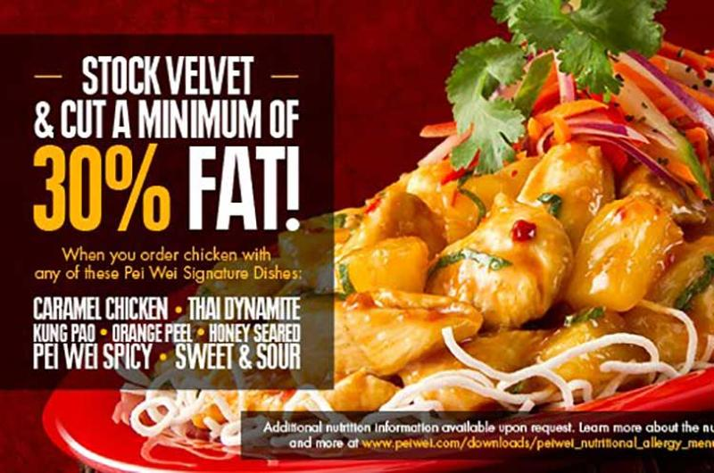 pei wei transparency