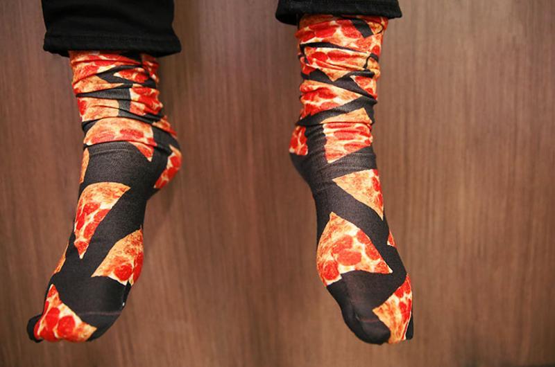 pepperoni pizza socks