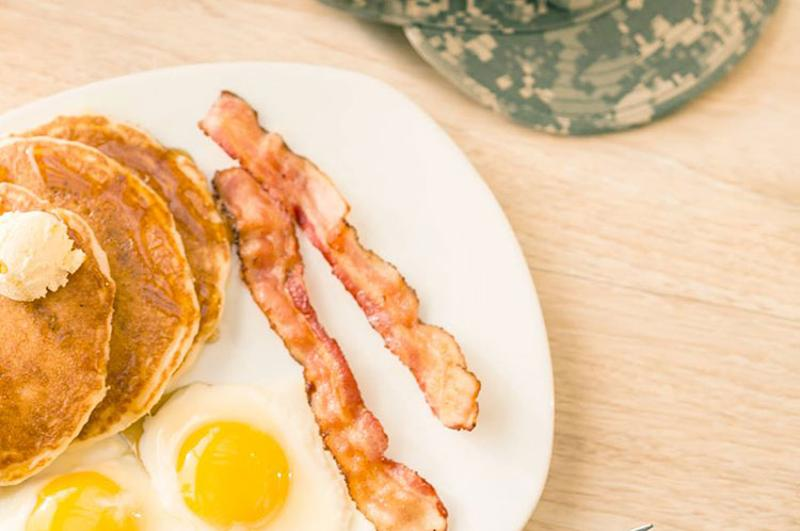 perkins military breakfast