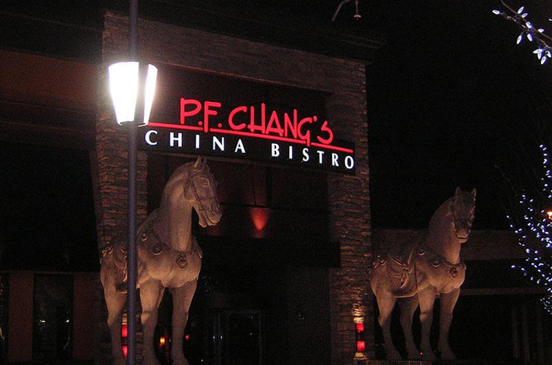 pf changs exterior