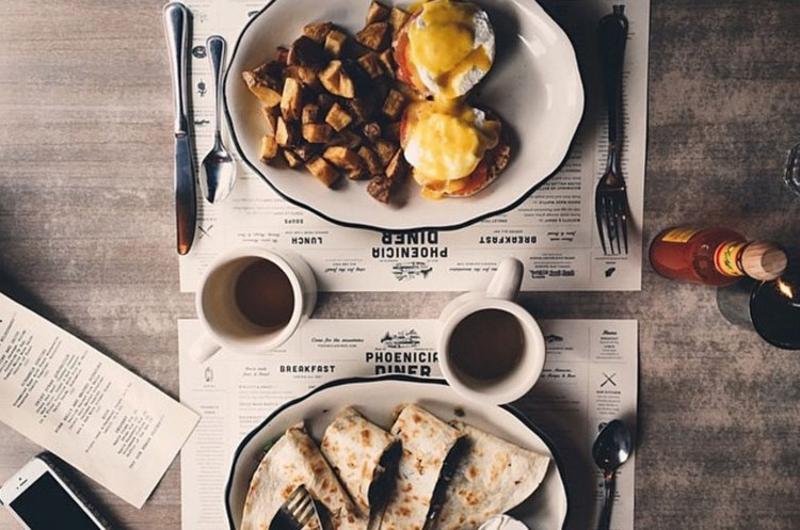 phoenicia diner eggs benedict