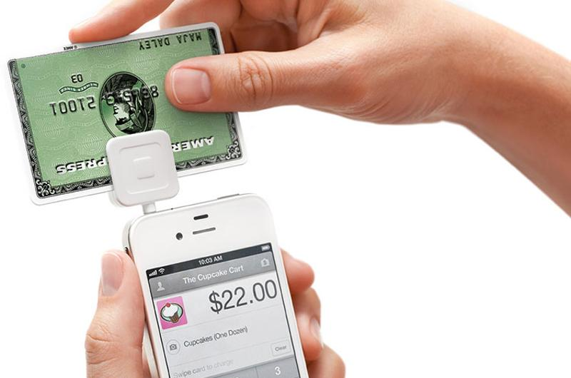 phone credit card square payment