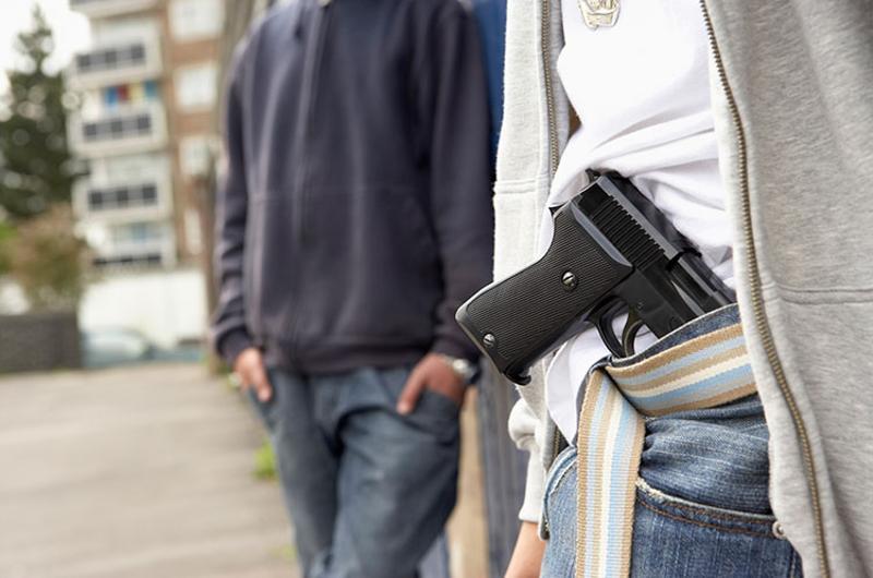 pistol waistband