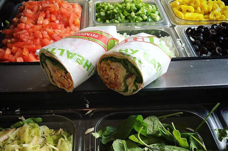 pita pit wrap bar