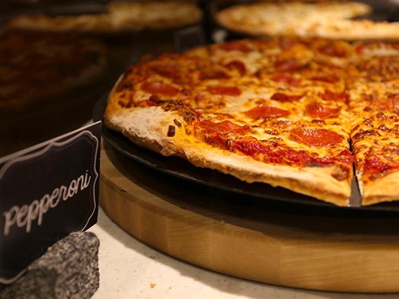 Pizza Hut slice bar
