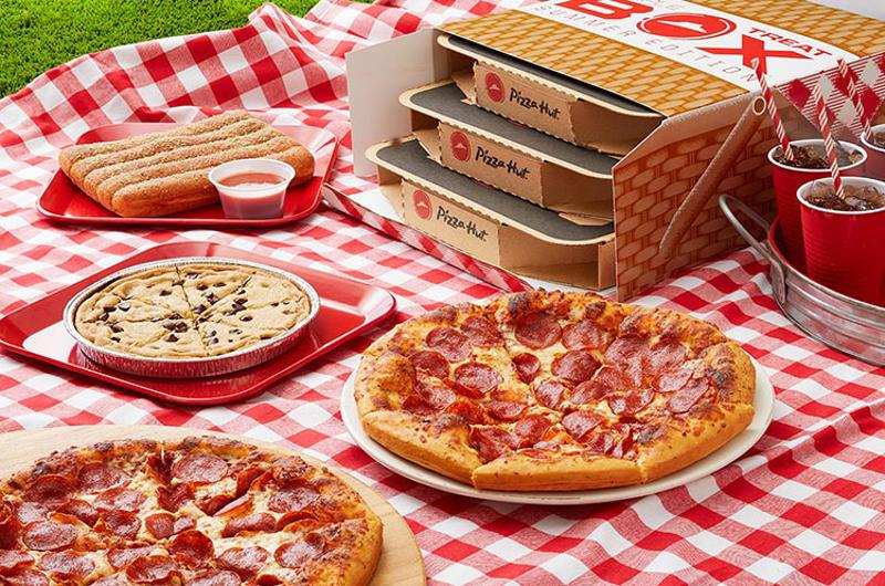 pizza hut summer triple treat