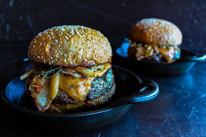 plain check complete burger