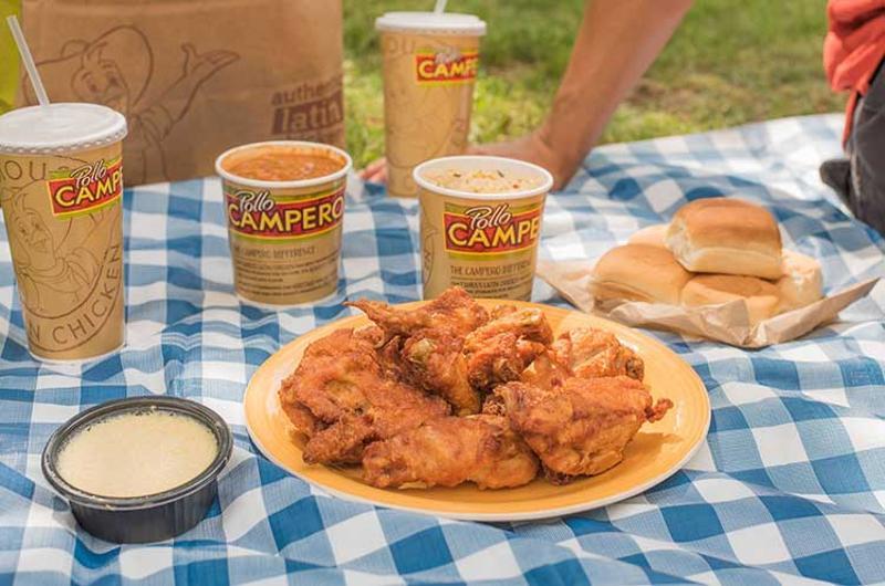 pollo campero picnic