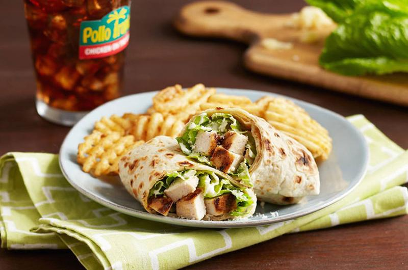 pollo tropical chicken caesar wrap