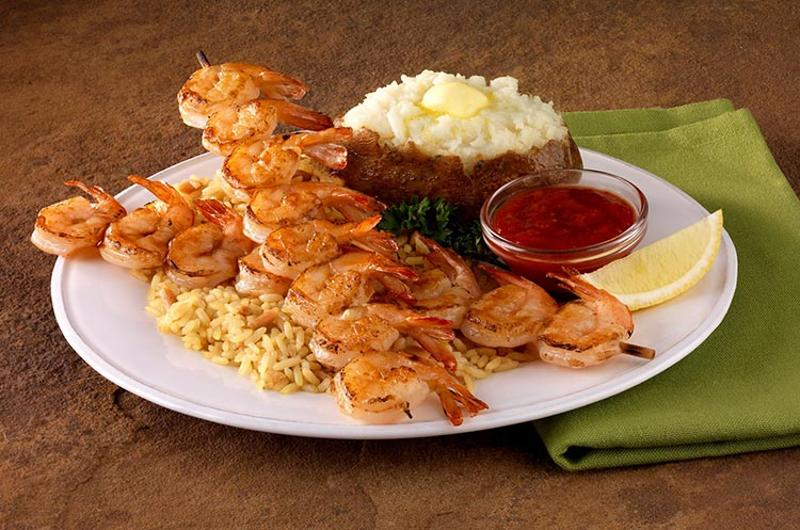 ponderosa shrimp skewers