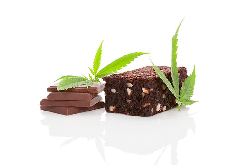 pot chocolate brownie