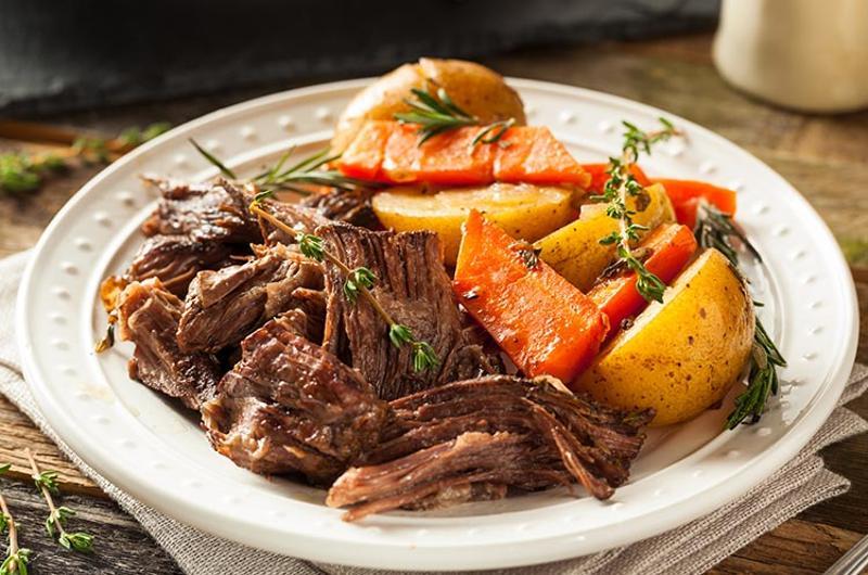 pot roast plate