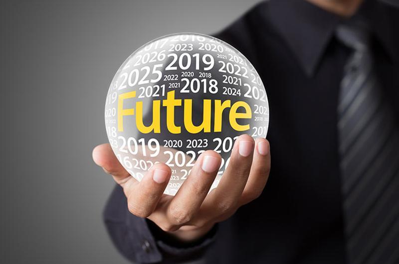 predictive future glass ball
