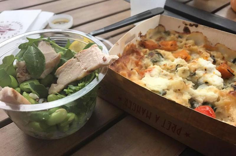 pret savory food