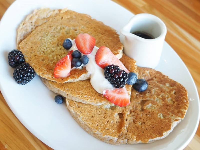Lyfe Kitchen - Quinoa Buttermilk Pancakes
