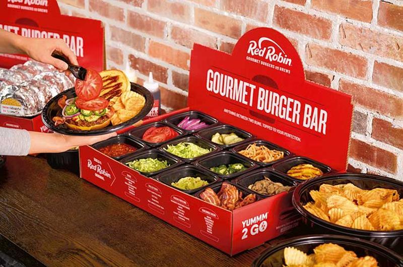 red robin gourmet burger bar