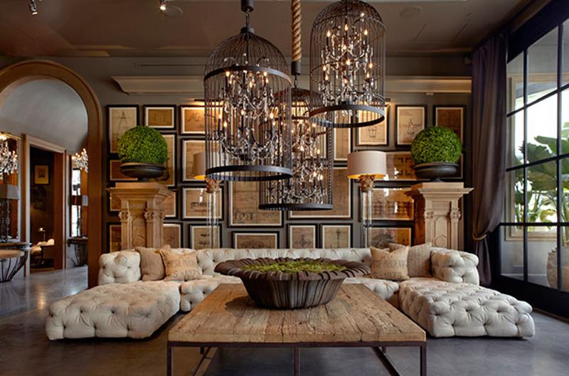 restoration hardware interior