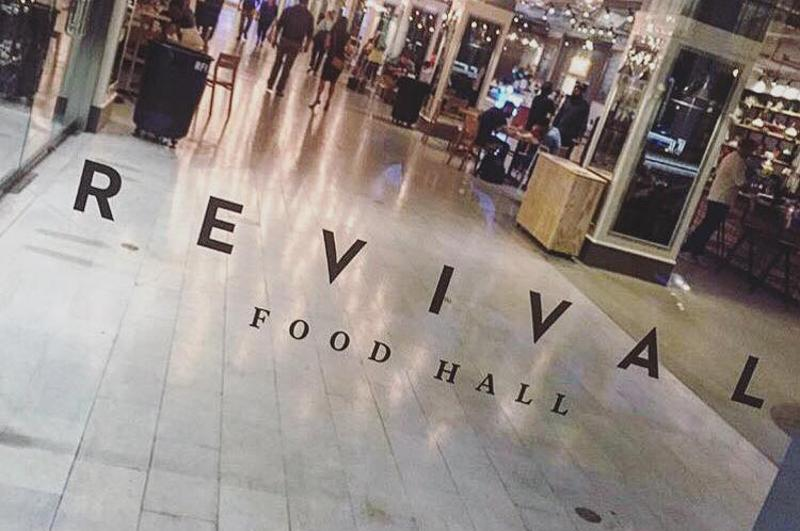 revival food hall door