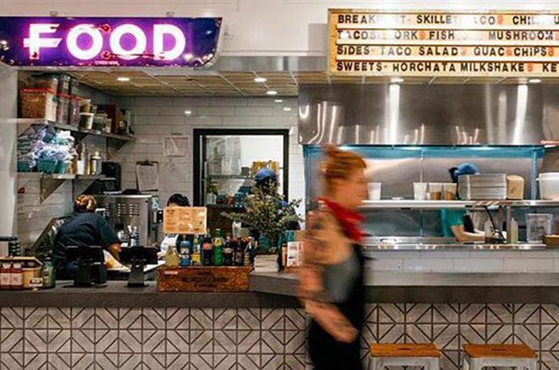 revival food hall interior