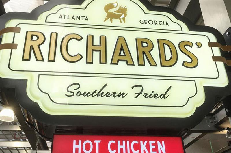 richards southern fried chicken