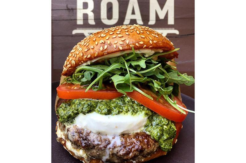 roam artisan burgers spring time