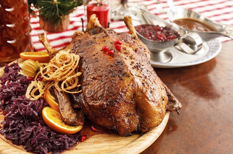 roast duck plate