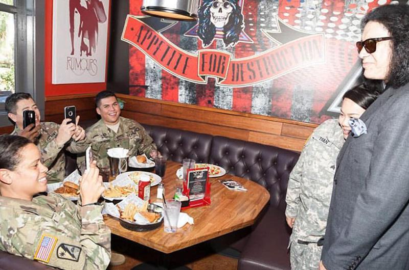 rock brews service members gene simmons